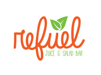 Refuel Juice and Salad Bar Logo
