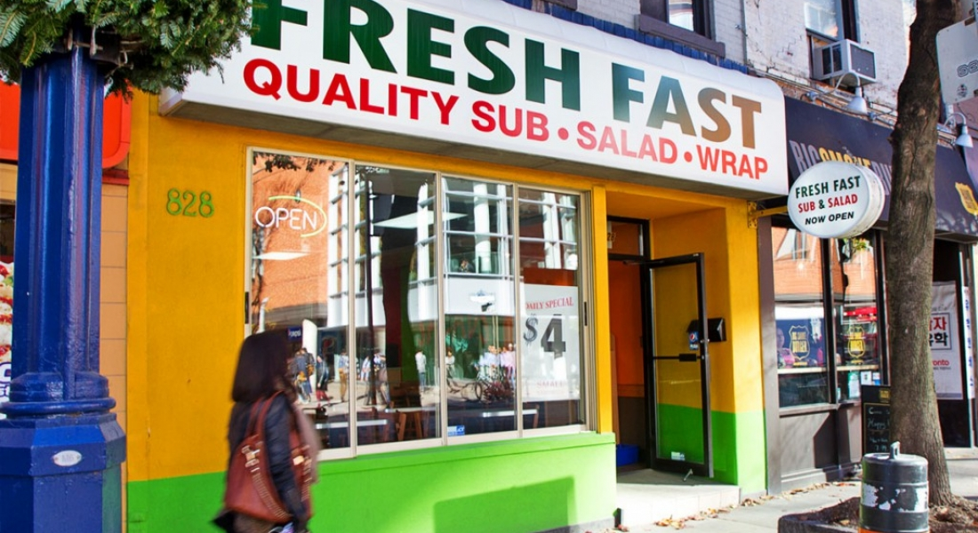 Fresh Fast – Quality Subs, Salads, and Wraps is a Health Haven in Yorkville