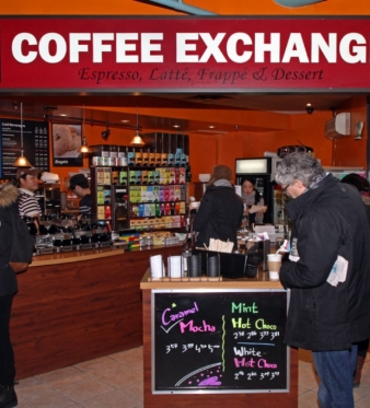 Coffee on-the-Go, in a Flash at Coffee Exchange!