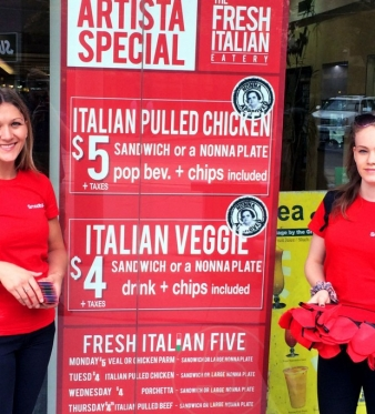 The Fresh Italian Eatery Serves Super Flavourful Food and Great Specials